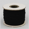Elastic Cord Small Black 1mm